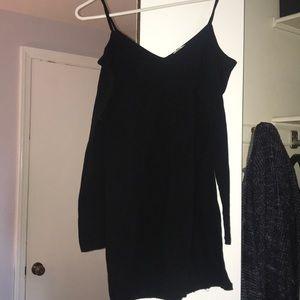 Tight fit black dress